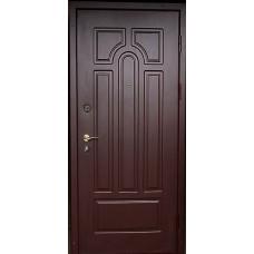 Дверь металлическая МДФ с двух сторон.