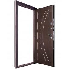 Дверь металлическая с МДФ