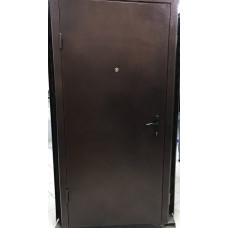Дверь металл с ДСП